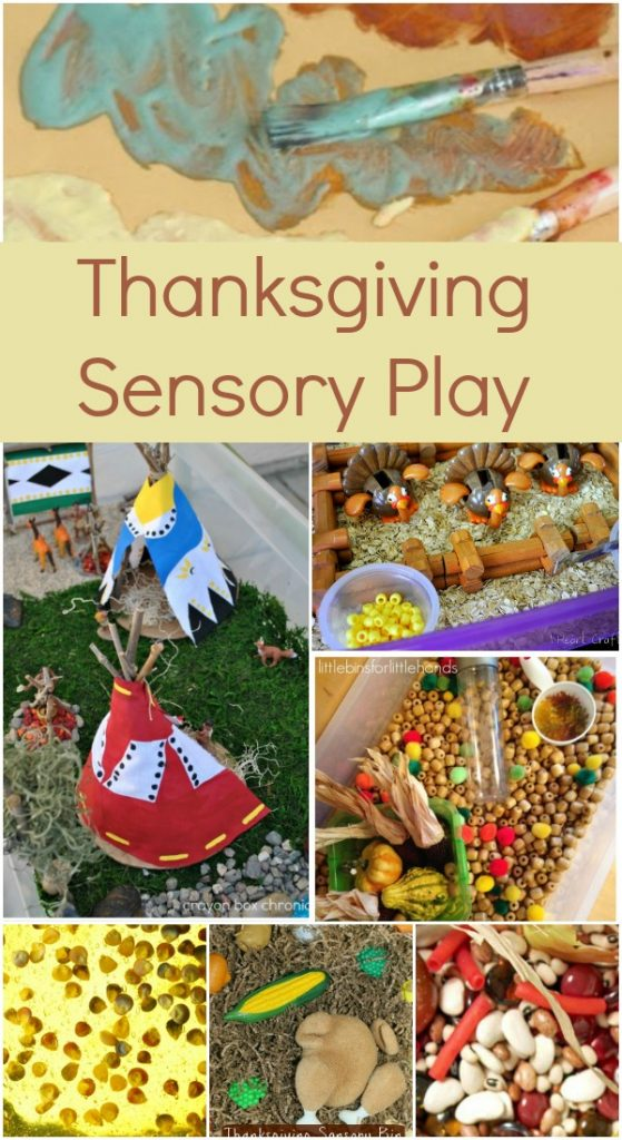 Thanksgiving Sensory Play - Fantastic Fun & Learning