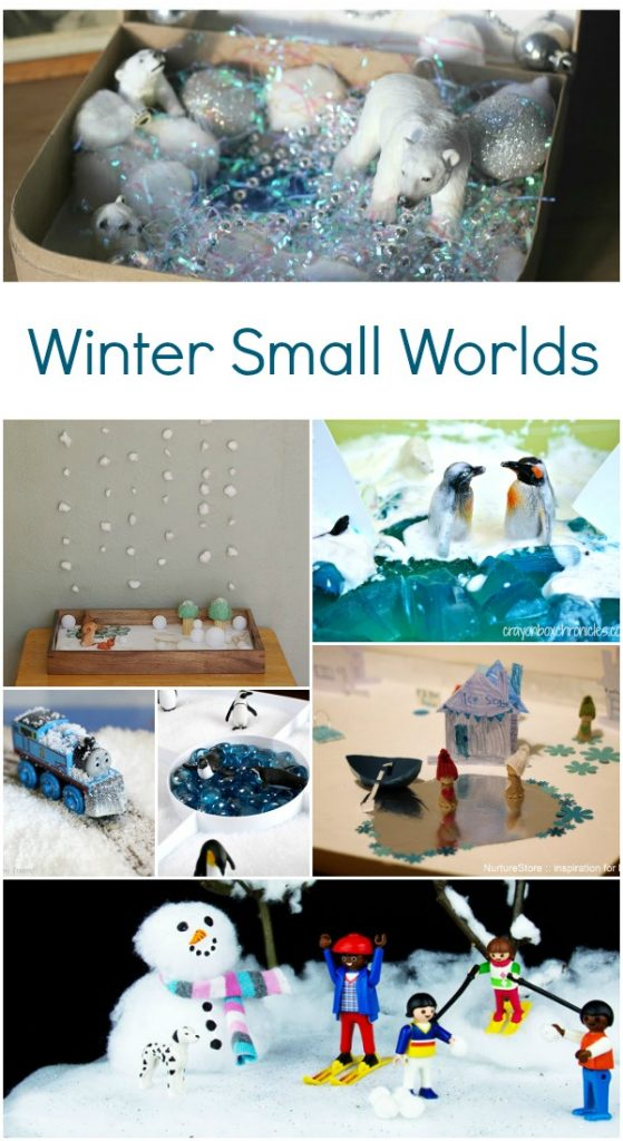 Winter Small Worlds Pretend Play Activities