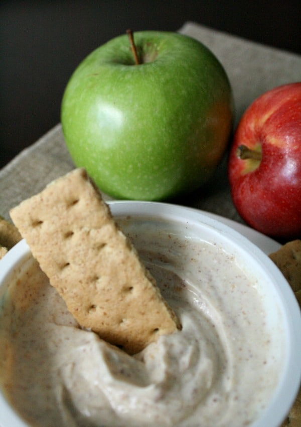 Yogurt Apple Pie Dip Recipe