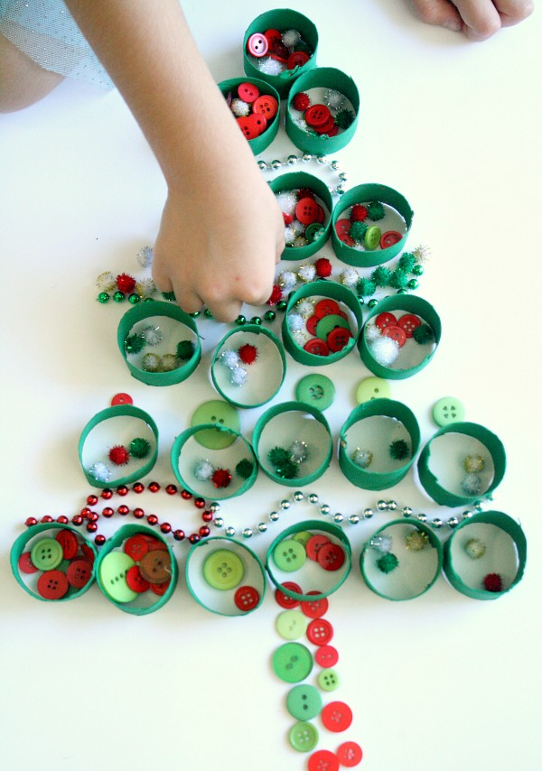 Christmas Sensory Play for Preschoolers
