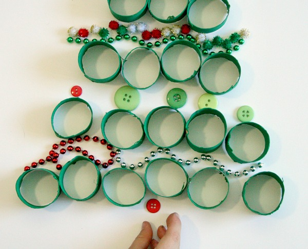 Christmas Tree Pretend Play