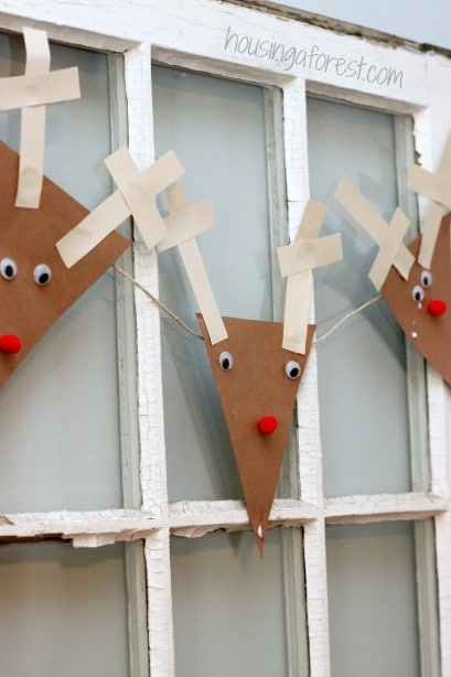 Paper Reindeer Craft