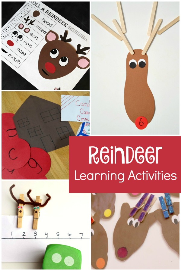 Reindeer Learning Activities