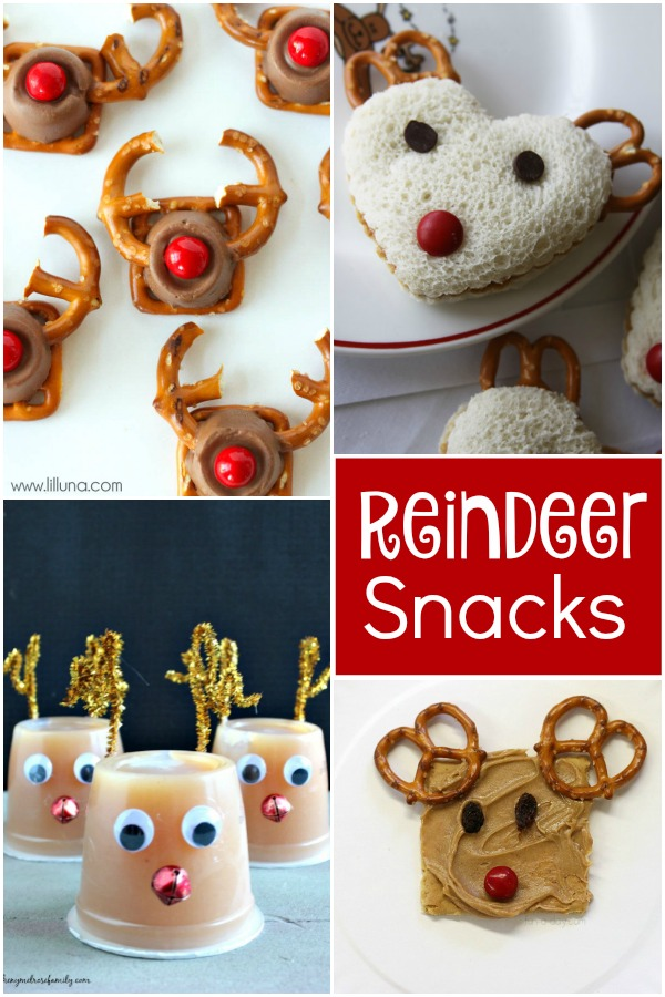 Reindeer Snacks for Kids