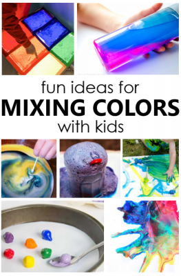 30 Creative Color Mixing Ideas-Use paint, water, slime and more to learn about color mixing with kids