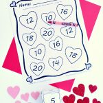 Valentine's Day Math Adding Doubles Free Printable