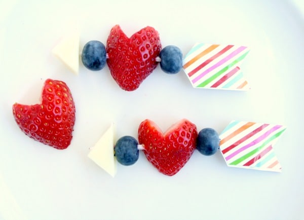 Healthy Valentine's Day Snack for Class Parties