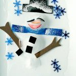 Icy Snowman Winter Sensory Play Science Experiment