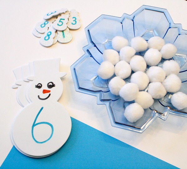 Materials for Snowball Addition