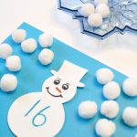 Snowball Addition Doubles Math Activity