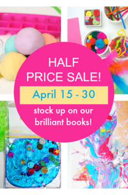 Fizz, Pop, Bang Half Price Sale