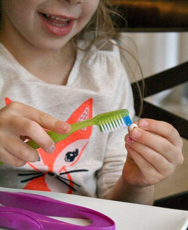 Brushing Teeth Pretend Play