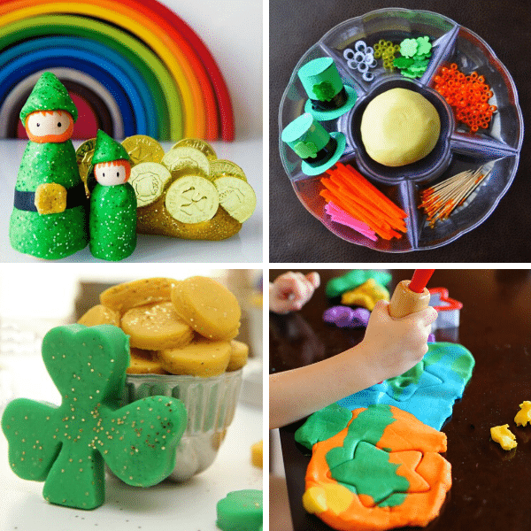 St. Patrick's Day Play Dough Invitations