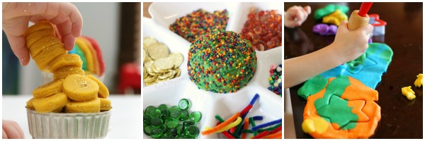 St. Patrick's Day Play Dough 3