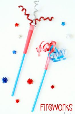 Fireworks Straw Rocket