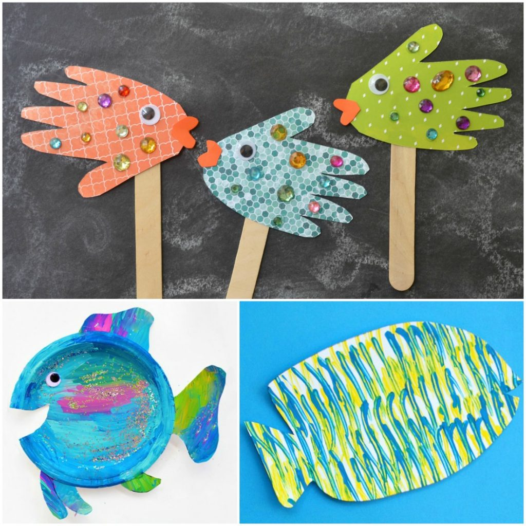 Fish crafts images galleries with a bite for Fish for toddlers