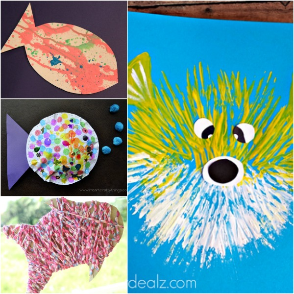 Fish crafts for kids fantastic fun learning for Fish art and craft