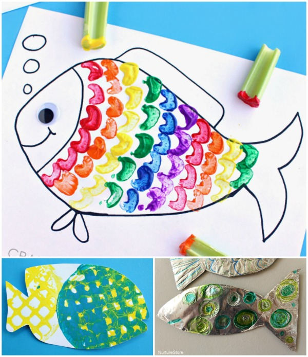 Creative Fish Crafts for Kids
