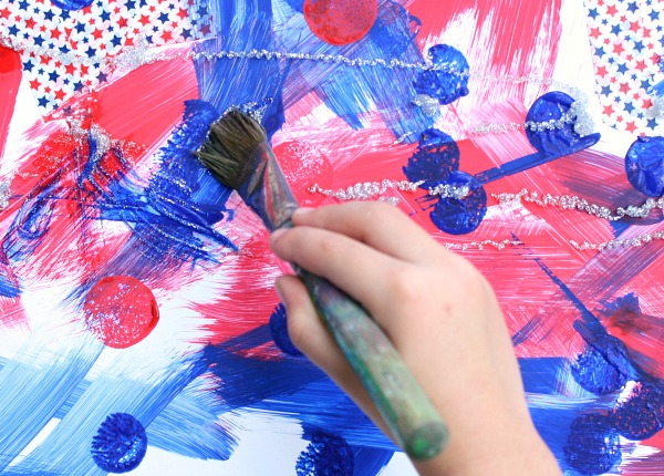 Fourth of July Art Activity for Kids