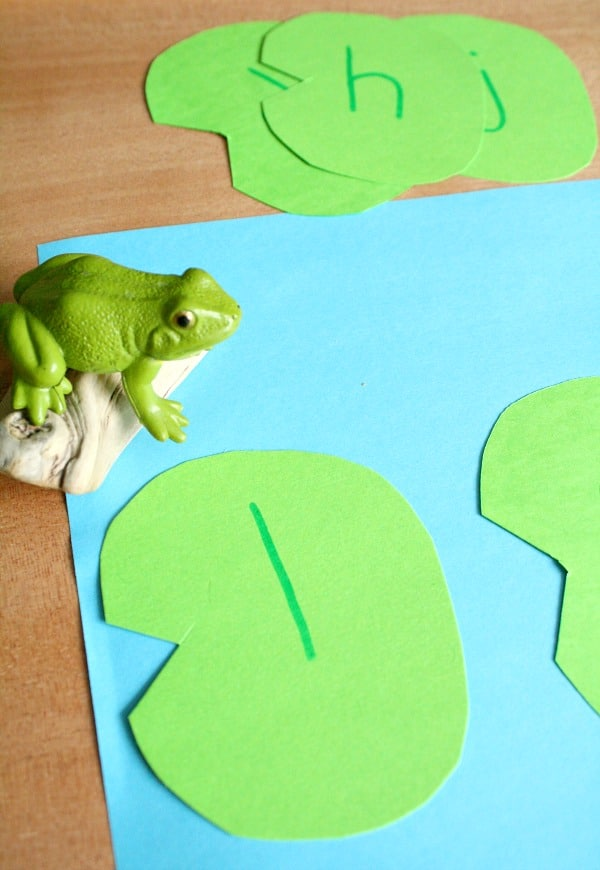 Frog Hop Blending-Beginning Reading Activity for CVC words in preschool and kindergarten