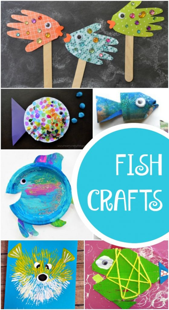 Adorable fish crafts for kids fantastic fun learning for Art and craft books for kids