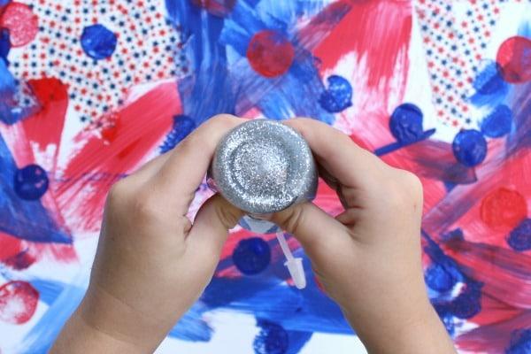 Glitter Glue for Preschool Art