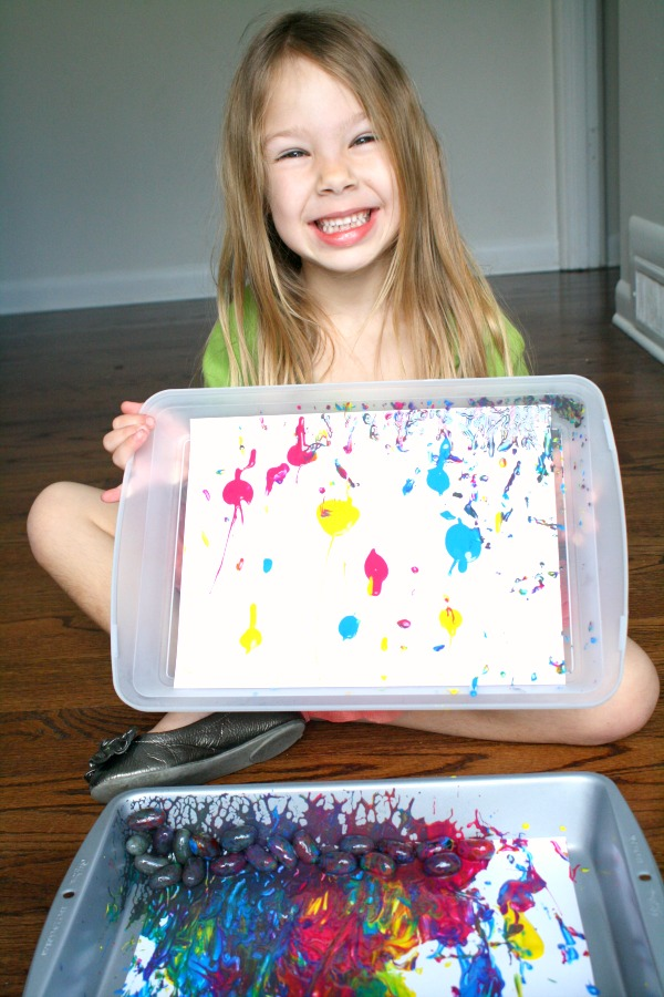 Jelly Bean Art for Kids
