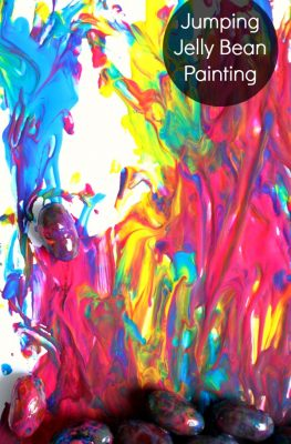 Jumping Jelly Bean Painting
