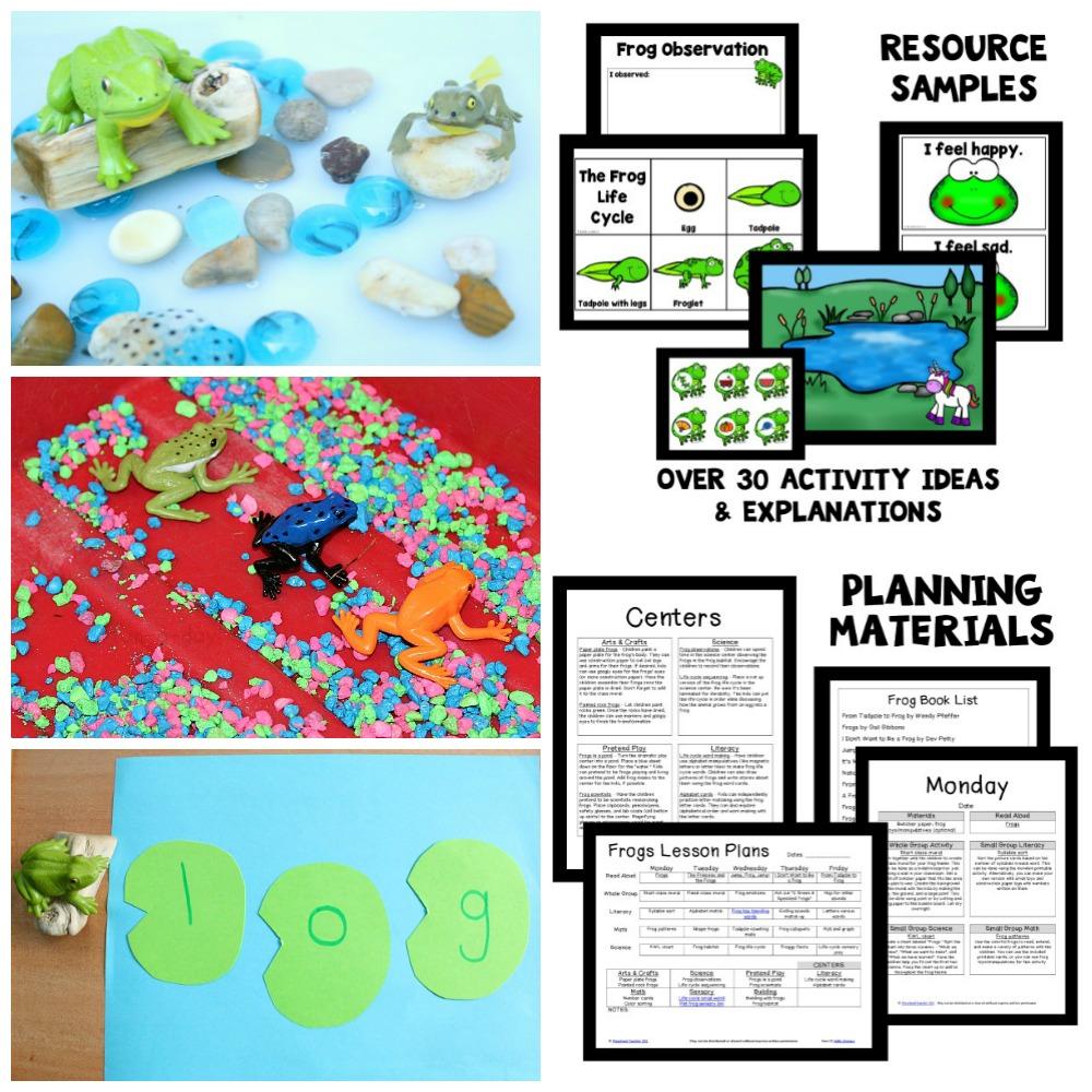 Preschool Frog Activities