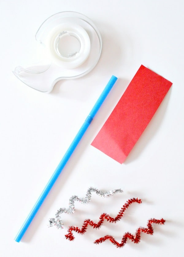 Materials for straw rockets