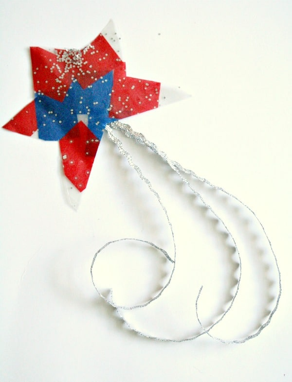 Patriotic Star Craft for Toddlers