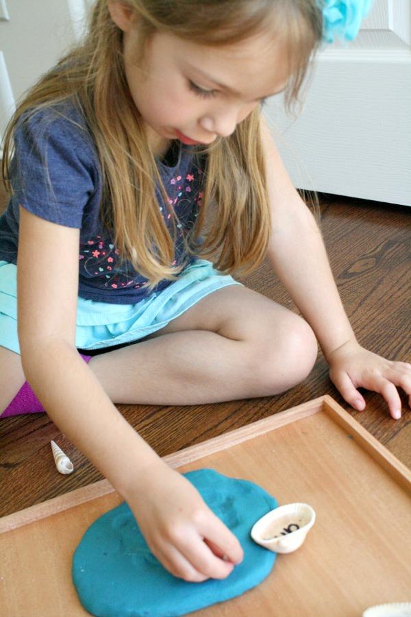 Preschool Sight Word Activity for Summer
