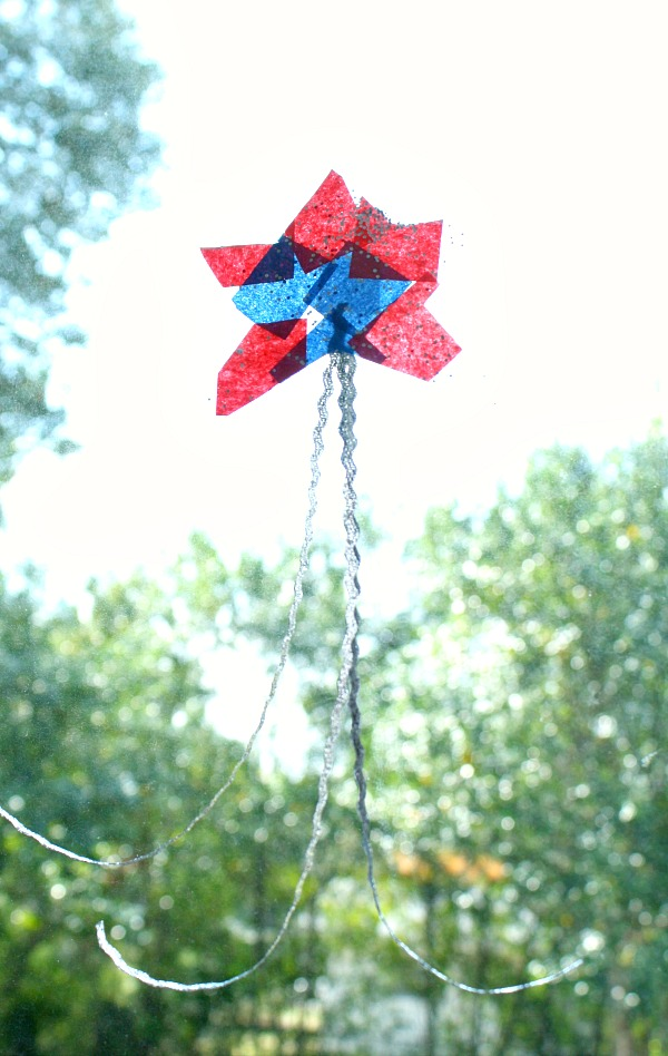 Red White and Blue Star Craft