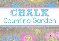 Chalk Counting Garden
