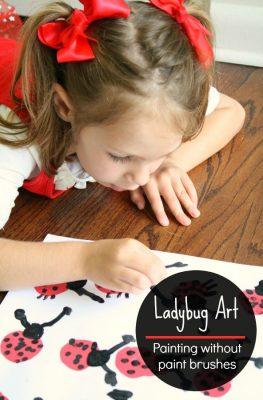 Preschool Ladybug Art