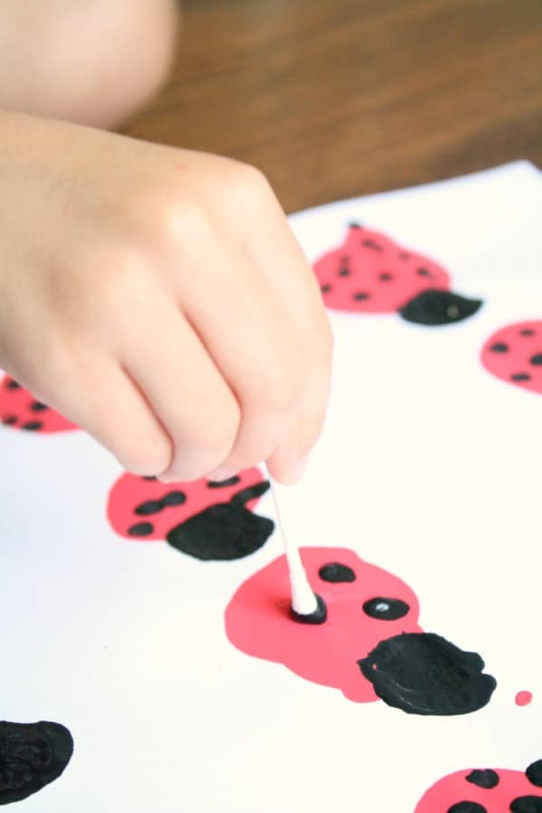 Ladybug Preschool Activity