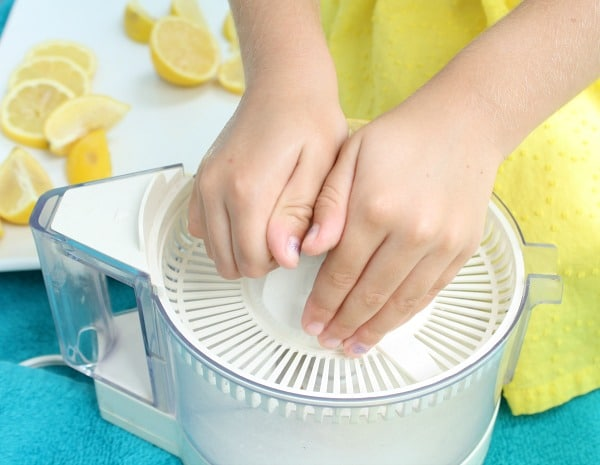 Lemon Sensory Play Summer Activity