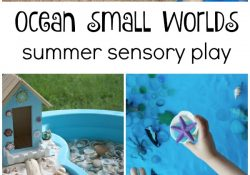 Ocean Small World Summer Sensory Play