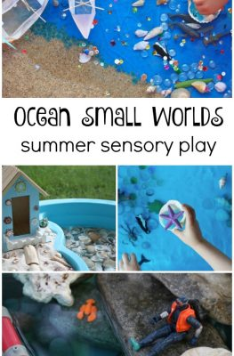 Ocean Small Worlds-Creative Summer Sensory Play for Kids