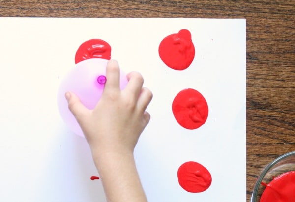 Painting without Paint Brushes-Balloon Painting
