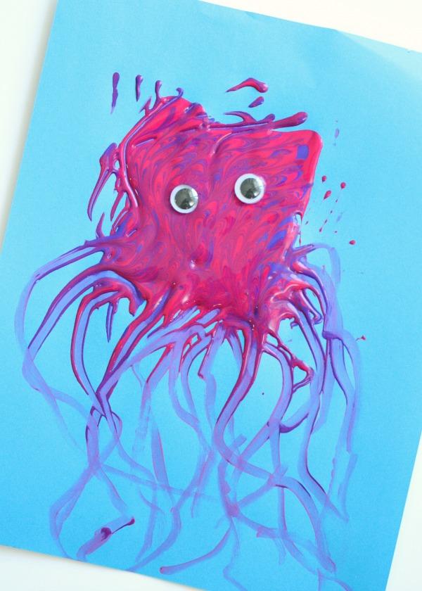 Jellyfish Craft Fantastic Fun Learning