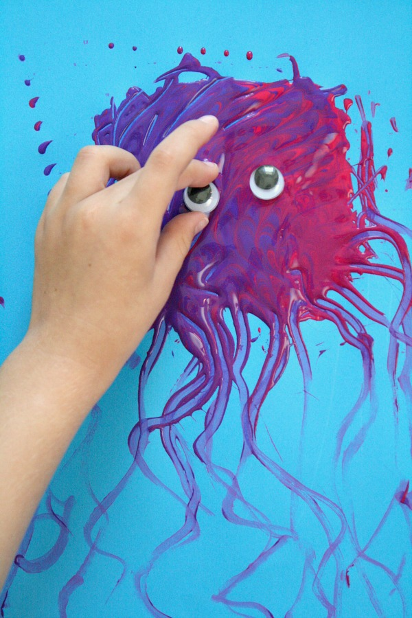 Preschool Letter J Craft-Jelly Fish
