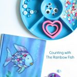 Rainbow Fish Counting Play Dough