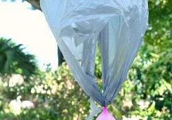 Water Balloon Parachute