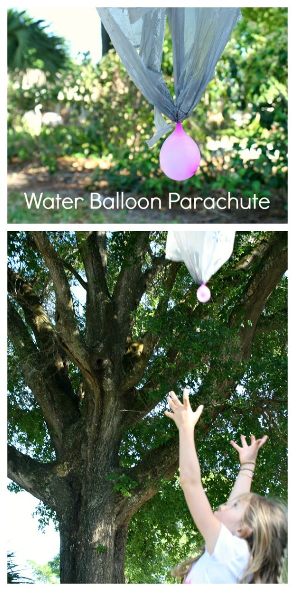 How to Make a Water Balloon Parachute for Kids Science