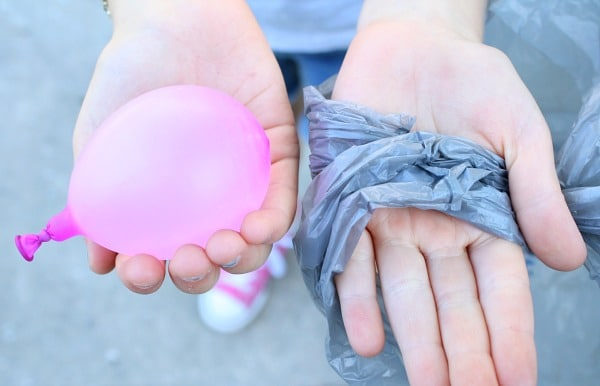 How to Make a Water Balloon Parachute