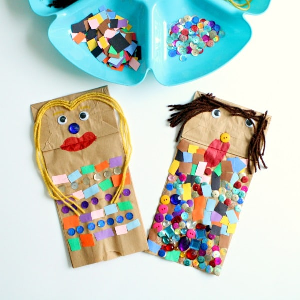 Paper Bag Puppet Square Image