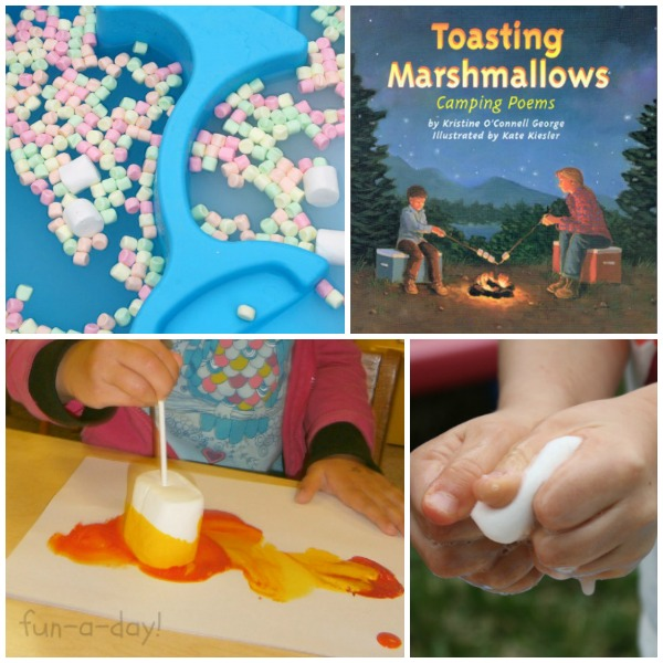 Read Create Play Marshmallow Theme Activities for Preschoolers