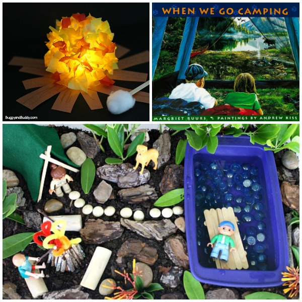 Read Play Create Camping Activities for Preschoolers