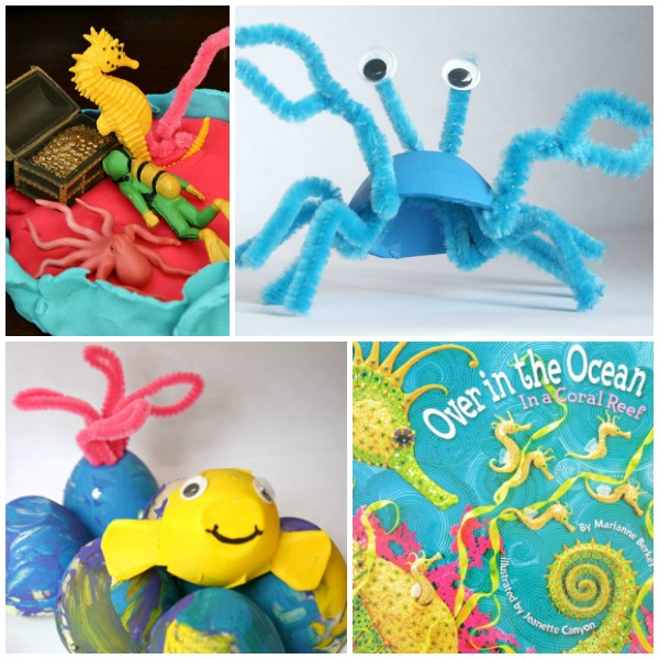 Read Play Create Coral Reef Activities for Preschoolers